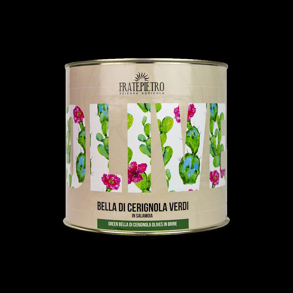 Olive Verdi Bella di Cerignola - Latta